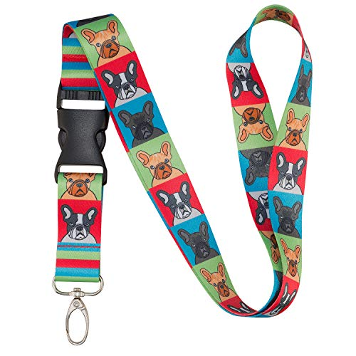 french bulldog lanyard - 1