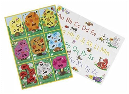 Jolly Phonics Alternative Spelling and Alphabet Posters: Sue Lloyd ...