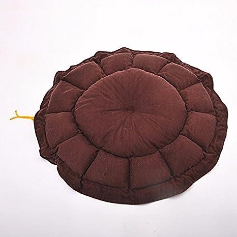 Pet Online Pet cama nido de calabaza redonda four seasons disponible pet kennel, 60cm, marrón: Amazon.es: Productos para mascotas