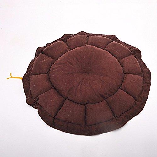 Brown Pet Online Pet bed round pumpkin nest four seasons available pet kennel, 60cm, brown