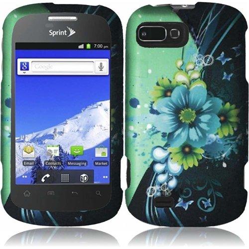 HR Wireless Rubberized Design Cover Case for ZTE Valet Z6...