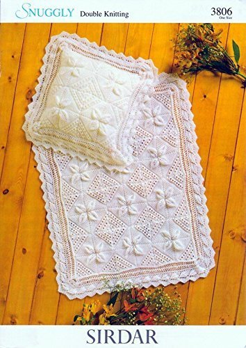Sirdar Snuggly Dk Baby Shawl Blanket Knitting Pattern 3806 By Sirdar