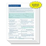 ComplyRight New York Employment Application, 50 pk