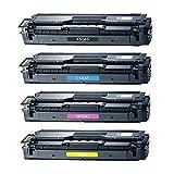 Bandar Compatible Toner Cartridges CLT504S CLT-K504S Black CLT-C504S Cyan CLT-M504S Magenta CLT-Y504S Yellow for Samsung CLP-415NW CLP-4195FW CLX-4195FN CLX-4195FW SL-C1810W SL-C1860FW (BCMY)