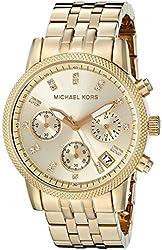 Michael Kors Women's Ritz Gold-Tone Watch MK5676