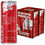 Red Bull The Red Edition Cranberry Energy Drink, 8.4 fl oz, 4 Counts