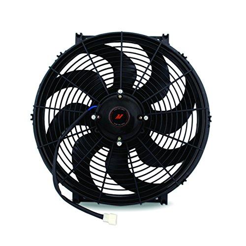 "Price comparison product image Mishimoto Black 16 Inch MMFAN-16HD Race Line,  High-Flow Fan,  16"""