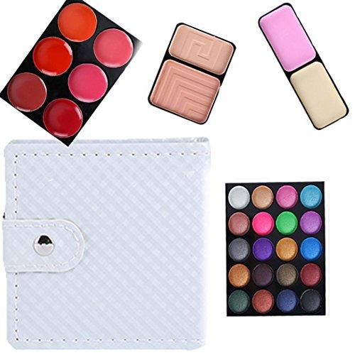 Eye shadow Sandistore 32 Color Cosmetic Matte Eyeshadow Cream Eye Shadow Makeup Palette Shimmer Set (Gray)