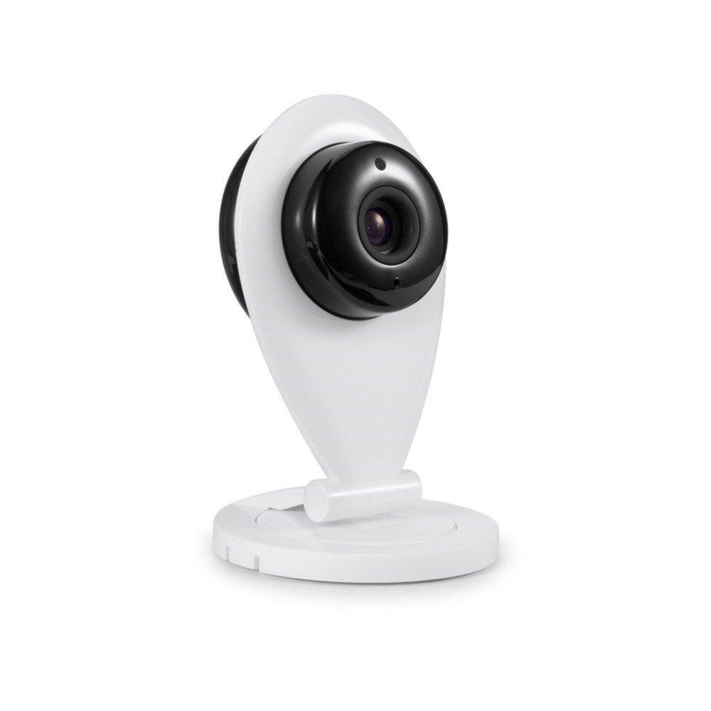 eyeCam EC1187 mini drahtlose IP Überwachungs-Kamera Auflösung: HD, 720p, Zwei-Wege-Intercom Funktion, Unterstützt Apple & Adroid
