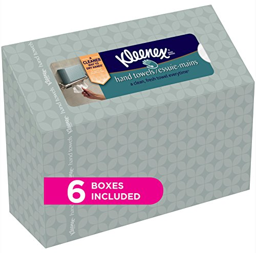 Kleenex Hand Towels Everyday, 60 Hand Towels per Box, 6 - Toss Single