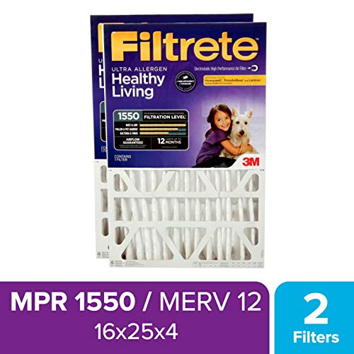 charcoal air filter 16x25 - 6