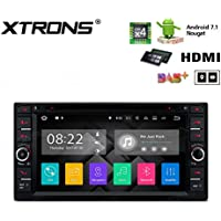 XTRONS HDMI Android 7.1 Quad Core 6.95 Inch HD Digital Touch Screen Car Stereo Radio DVD Player GPS for TOYOTA RAV4
