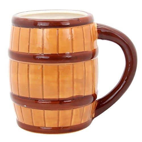 mancave-beer-barrel-coffee-vessel-ceramic-drinking-mug-with-handle-20-oz-brown