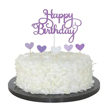 Amazon Sunny ZX Happy Birthday Cake Topper First