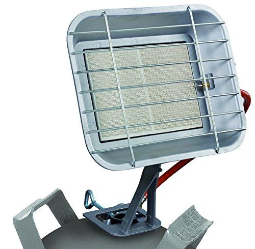 Einhell Gas Heizstrahler GS 4600 P (Heizleistung bis 4,6 kW, mit Piezo-Zündung, inkl. Druckminderer, Schlauch, Regler, für handelsübliche Gasflaschen)