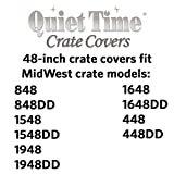 MidWest Dog Crate Cover, Privacy Dog Crate Cover