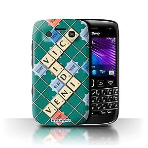 STUFF4 Phone Case / Cover for Blackberry Bold 9790 / Veni Vidi Vici Design / Scrabble Words Collection