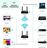 Wireless HDMI Extender, 5GHz HDMI Loop Output