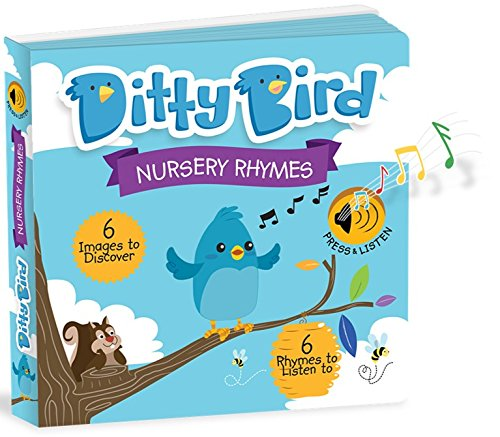 OUR BEST INTERACTIVE MUSICAL NURSERY RHYMES BOOK for BABIES. Music Singing Push Button Board Book. Educational Sing Along Toys. Baby Books for Toddler. 1 year old boy gifts. 1 year old girl gifts.