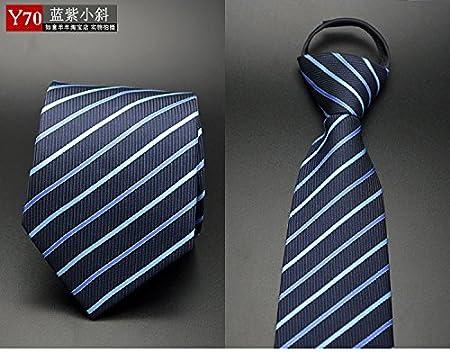 GENTLEE TIE Los Hombres Trajes de Vestir Corbata de Lazo Abajo Zip ...