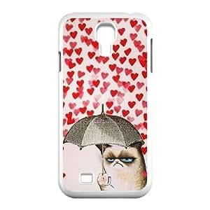 Clzpg High-quality SamSung Galaxy S4 I9500 Case - Grumpy cat diy cover case