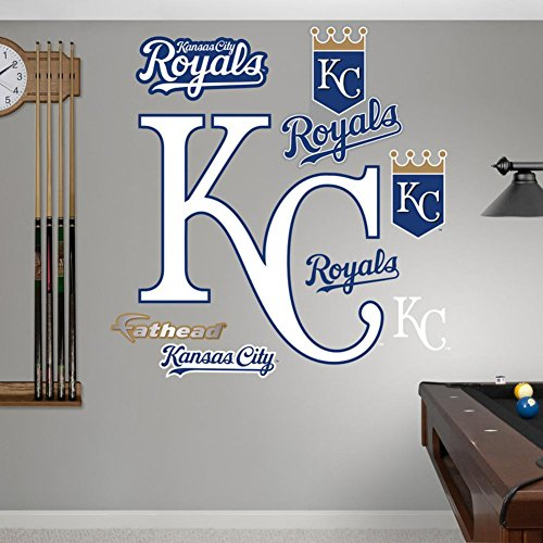 Kansas City Royals Alternate Logo Wall Decal 39 x 39in