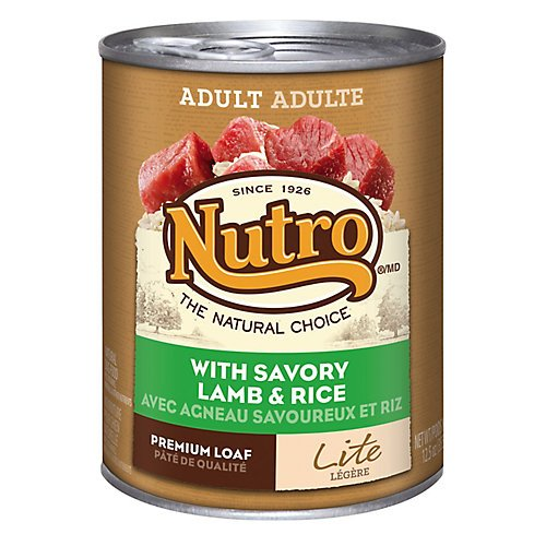 Nutro Nutro Natural Choice Dog Food Lite 12.5 oz cans / case of 12 Canned Food