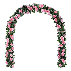 DearHouse Artificial Wisteria Vine Garland 69