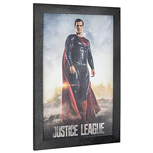- Officially Licensed D.C. Comics Justice League Superman Framed Movie Poster Wall Art (19