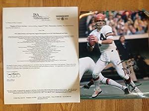 Ken Anderson Bengals Autographed 8x10 Pic 1971-86 32,838 Yds, 197 Tds 4x Pro Bowl Mt