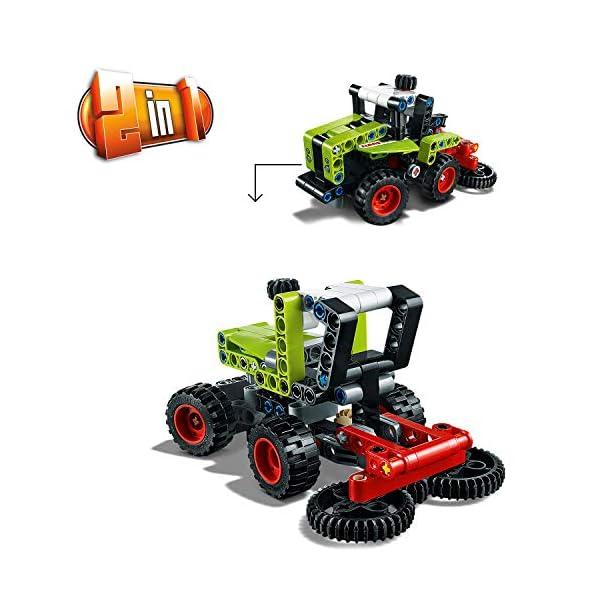 LEGO Technic Mini Claas Xerion Set di Costruzioni Trattore, per Bambini +7 Anni, 42102 3 spesavip