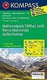 Nationalpark Stilfserjoch /Parco Nazionale dello Stelvio: Wanderkarte mit Aktiv Guide, Radrouten und Skitouren. GPS-genau. Dt. /Ital. 1:50000 (KOMPASS-Wanderkarten, Band 72)