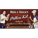 Berg & Hauck's Cocktail Bitters Sampler Set - Pack of 5 4 Cocktail Bitters Sampler
