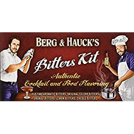 Berg & Hauck's Cocktail Bitters Sampler Set - Pack of 5 1 Get 5 different flavors