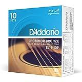 D'Addario EJ16-10P Phosphor Bronze Acoustic Guitar
