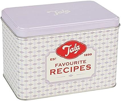 Tala Originals – Receta Tarjeta Caja con 20 Tarjetas de Recetas, Mixed: Amazon.es: Hogar
