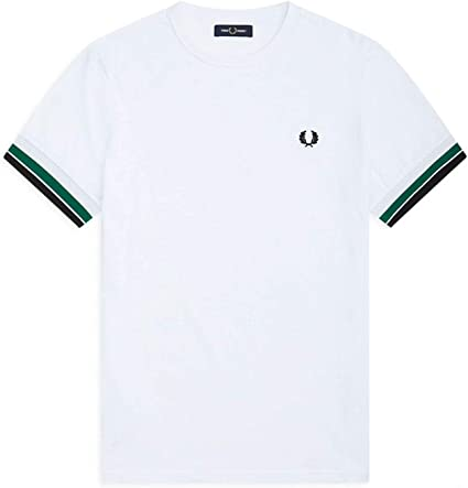 Fred Perry Bold Tipped T-shirt, Camiseta - L: Amazon.es: Ropa y ...