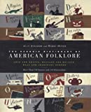 Front cover for the book Penguin Dictionary of American Folklore by Alan Axelrod