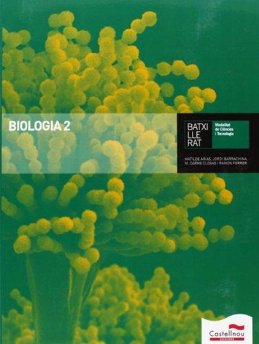 Biologia 2 - 9788498049206 por Barrachina Serrano, Jorge,Arias Mariné, Matilde,Closas Junyent, Mª Carme,Ferrer Bolasell, Ramon