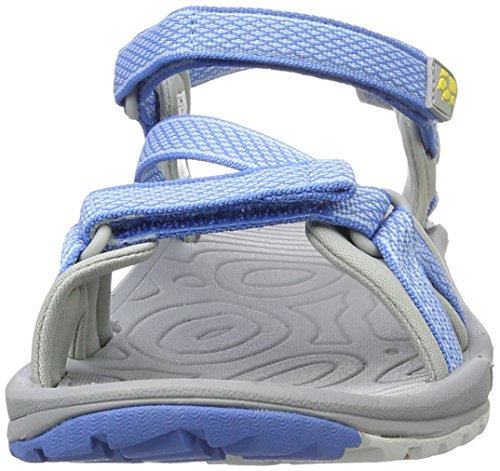 Jack Wolfskin Lakewood Ride Sandal W, Sandalias Al Aire Libre para Mujer Azul (Wave Blue)