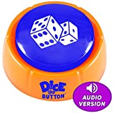 Novelty888 Dice Button is a New Generation of Dice   Random Numbers 1-6 in Audio  A New Board Game Experience   Talking Button   Dice for Kids - It is Safe for Children and Pets.