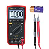 RAGU 17B Digital Multimeter 6000 Count with Ohm Volt Amp Diode Continuity Test, Backlit LCD Display, Auto-Ranging Electronic Measuring Instrument Tester