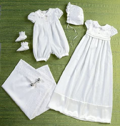 Sash Butterick Patterns B6045 Infants Romper Dress Booties and Blanket Sewing Template Size YA5 Hat