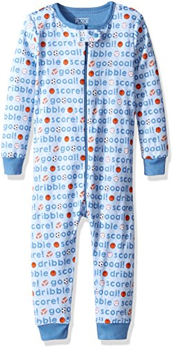 The Children's Place Baby Boys His Little Stretchie Pajamas, Goal (Brook), 18-24 Months