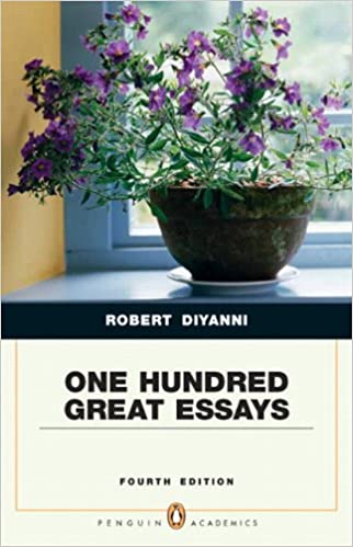 amazon com one hundred great essays penguin academics series  one hundred great essays penguin academics series 4th edition 4th edition