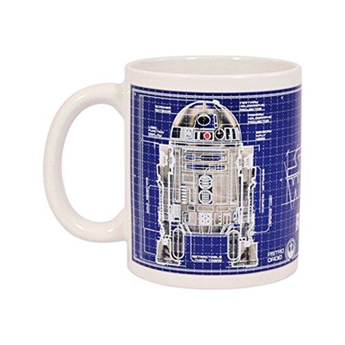Star Wars R2-d2 Heat Changing Mug