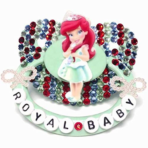 Baby Bear Pacis Adult Pacifier''Royal Baby'' Green Ariel Adult Paci (DDLG/ABDL) by Baby Bear Pacis