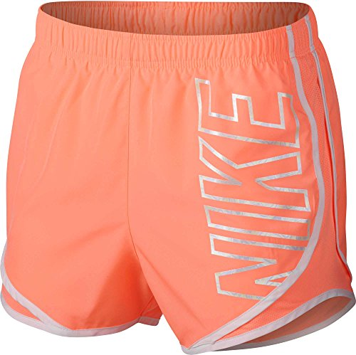 Nike Women's Dry Party Pack Tempo Running Shorts (Crimson Pulse, X-Small) ()