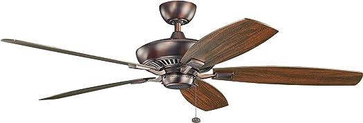 Kichler 300188OBB Ceiling Fan with Light