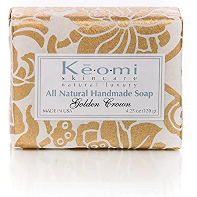 ORGANIC HANDMADE SOAP GIFT SET - Gift Boxed & Ready to Give - Scented w/100% Pure Essential Oils - PAMPER THEM w/LUXURY WHILE LIFTING THEIR SPIRITS from Keomi Naturals